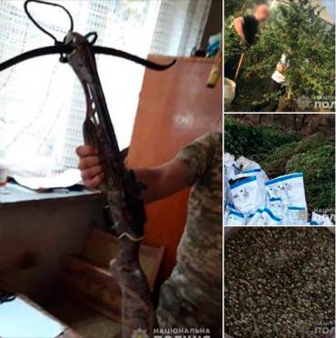 В доме жительницы Закарпатья нашли наркотики и боеприпасы (ФОТО)