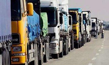 Караул! Все украли!: В Украине международные перевозчики оказались без работы