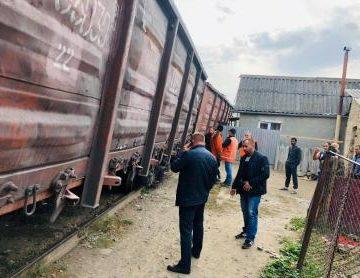 Виновники к сходу поезда с рельсов в Ужгороде могут сесть за решетку на три года