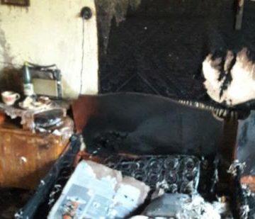 В Ужгороде при пожаре нашли обугленное тело: Опубликовано фото (ФОТО)