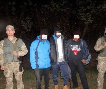 В лес не по грибы — 2. Вблизи границы с Венгрией поймали трех мигрантов из Африки