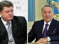 Порошенко и Назарбаев обсудили развитие торгово-экономического сотрудничество, взаимодействие в международных организациях