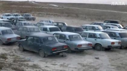 Владельцы «евроблях» массово бросают их на границе (ВИДЕО)