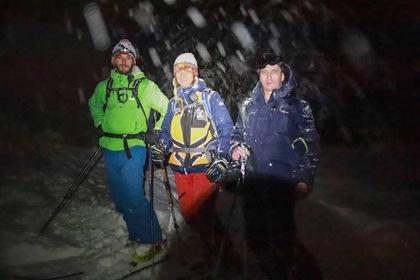 Двух киевлян, заблудившихся в Карпатах, нашли спасатели
