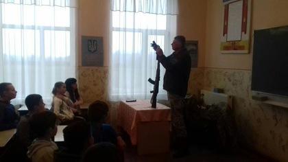 Интерес к военному делу и своей профессии прививали детям «зеленые береты» Чопского пограничного отряда